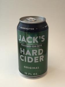 Jack's Hard Cider - Original (12oz Can)